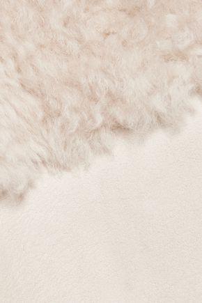 KARL DONOGHUE Reversible Alpine lambskin panelled gilet