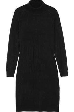 IRIS AND INK Charlotte wool and cashmere-blend turtleneck sweater dress
