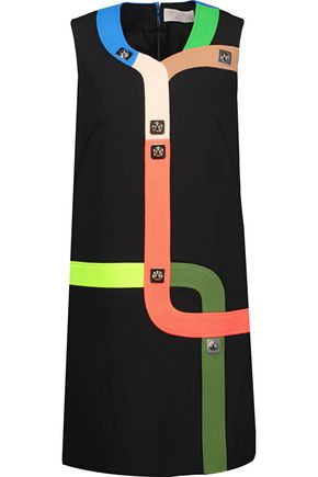 PETER PILOTTO Embellished crepe mini dress