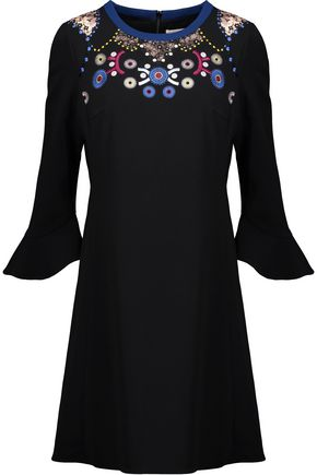 PETER PILOTTO Embroidered crepe dress