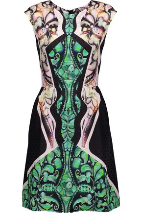 PETER PILOTTO Alexa printed silk mini dress