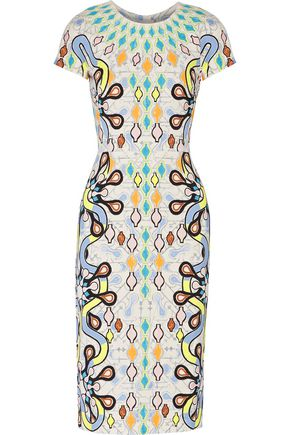 PETER PILOTTO Printed crepe midi dress