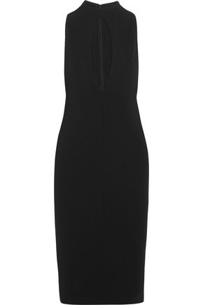 SOLACE LONDON Maret cutout crepe dress