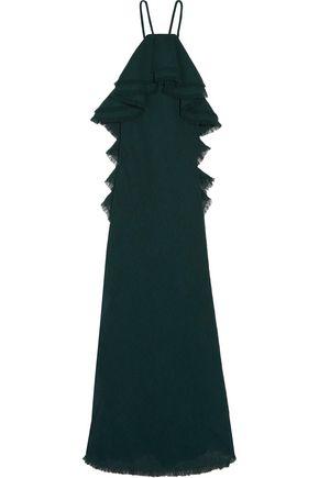 JASON WU Ruffled gauze gown