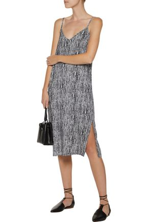 SPLENDID Printed voile dress