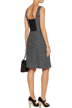 DOLCE & GABBANA Wool-blend tweed dress