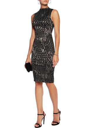 TART Austin printed stretch-jersey dress
