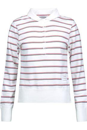 THOM BROWNE Striped cotton top