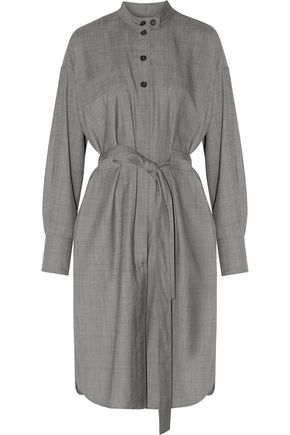 ISABEL MARANT ÉTOILE Nalise belted checked wool dress
