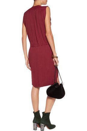 ISABEL MARANT ÉTOILE Nicky tasseled crepe mini dress