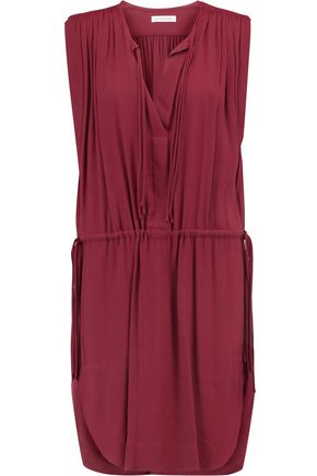 ISABEL MARANT ÉTOILE Nicky tasseled crepe mini dress