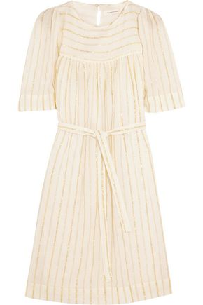 ISABEL MARANT ÉTOILE Samoa striped cotton-blend mini dress