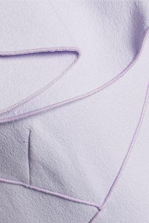 GIAMBATTISTA VALLI Ruffled crepe mini dress
