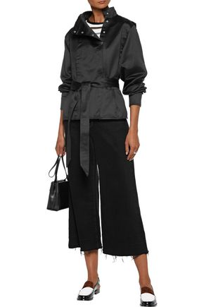 ISABEL MARANT ÉTOILE Mindy belted cotton-satin jacket