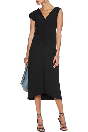 MAISON MARGIELA Vestito asymmetric crepe dress