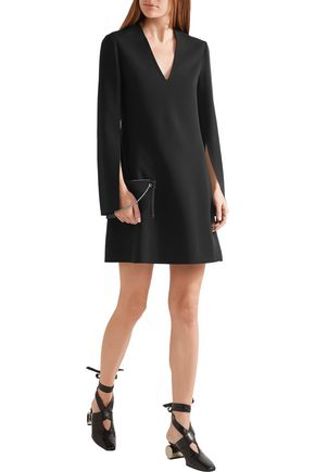 CALVIN KLEIN COLLECTION Crepe mini dress