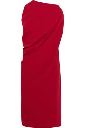 MM6 MAISON MARGIELA Asymmetric draped crepe dress