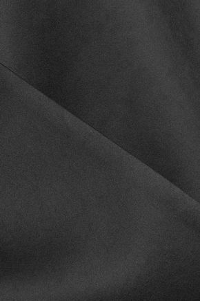 CHALAYAN Wrap-effect satin jacket