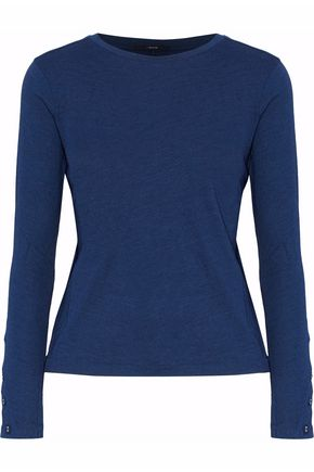 J BRAND Mélange cotton-jersey top