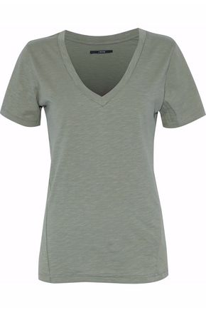J BRAND Slub cotton-jersey T-shirt