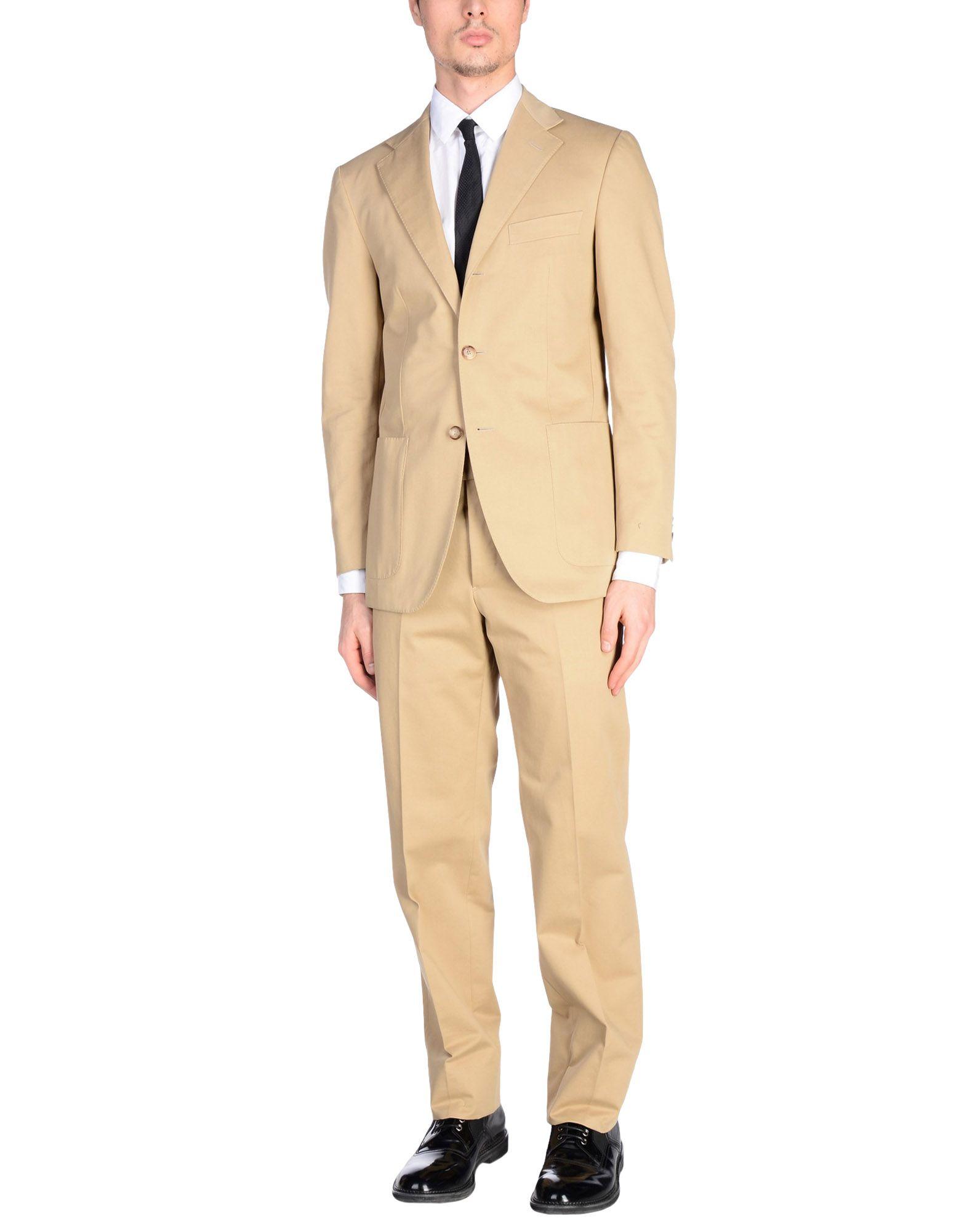 BALLANTYNE メンズ スーツ ベージュ 56 コットン 100%