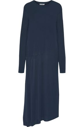 JIL SANDER Stretch-knit midi dress