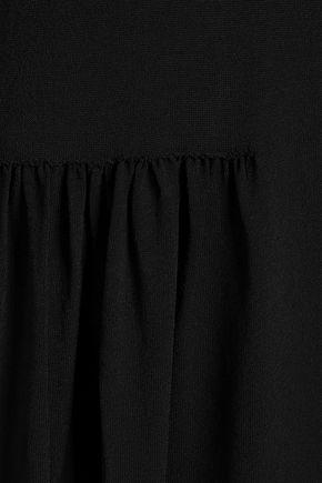 JIL SANDER Stretch-knit midi dress