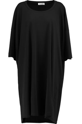 JIL SANDER Cotton-jersey midi dress