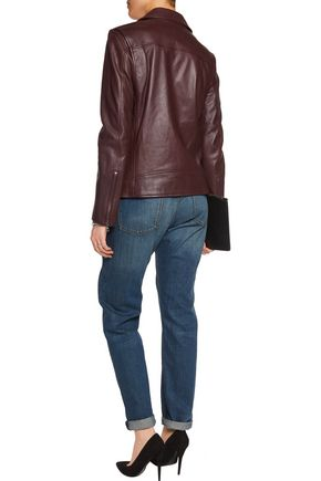 THEORY Leather biker jacket