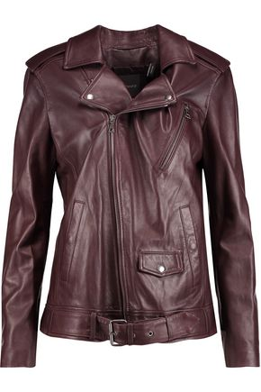 THEORY Nappa leather biker jacket