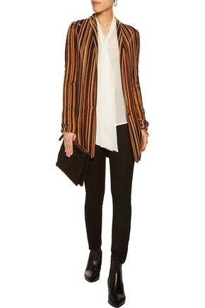 JUST CAVALLI Metallic knitted blazer