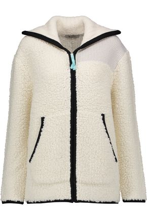 T by ALEXANDER WANG Bouclé-knit jacket