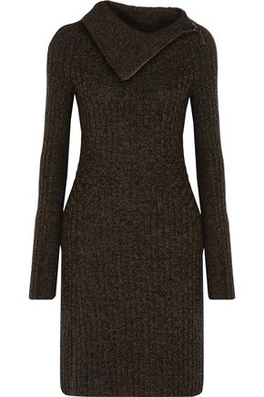 BELSTAFF Katarina ribbed wool, silk and cashmere-blend sweater