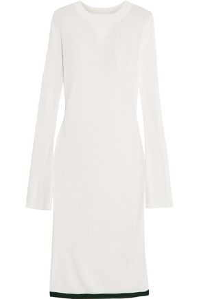 ELLERY Jupiter ribbed-knit midi dress