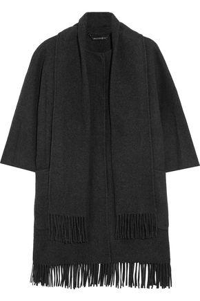 DIANE VON FURSTENBERG Susie fringed wool-blend felt jacket
