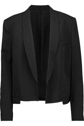 HELMUT LANG Pinstriped crepe blazer