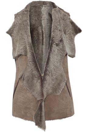 KARL DONOGHUE Shearling vest