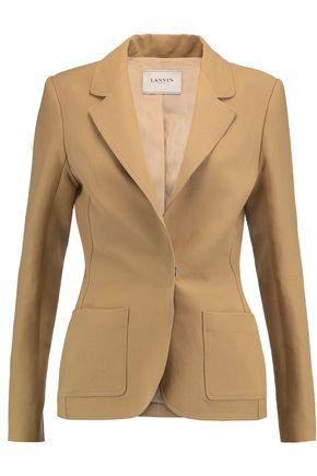 LANVIN Linen-blend blazer