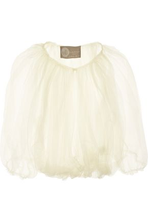 LANVIN Cropped tulle shrug