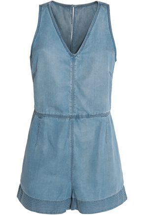 RAG & BONE/JEAN Denim playsuit