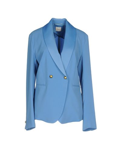 Фото - Женский пиджак  лазурного цвета