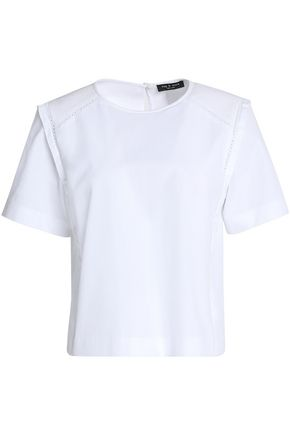RAG & BONE Cotton piqué top