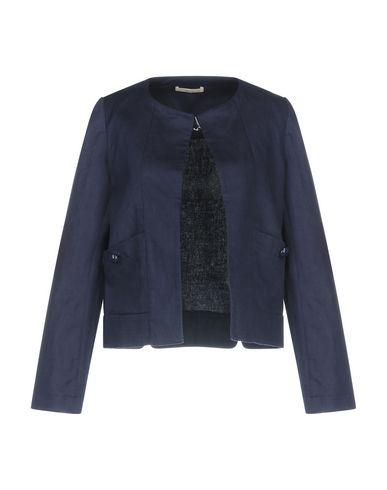 Фото - Женский пиджак SESSUN темно-синего цвета