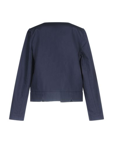 Фото 2 - Женский пиджак SESSUN темно-синего цвета