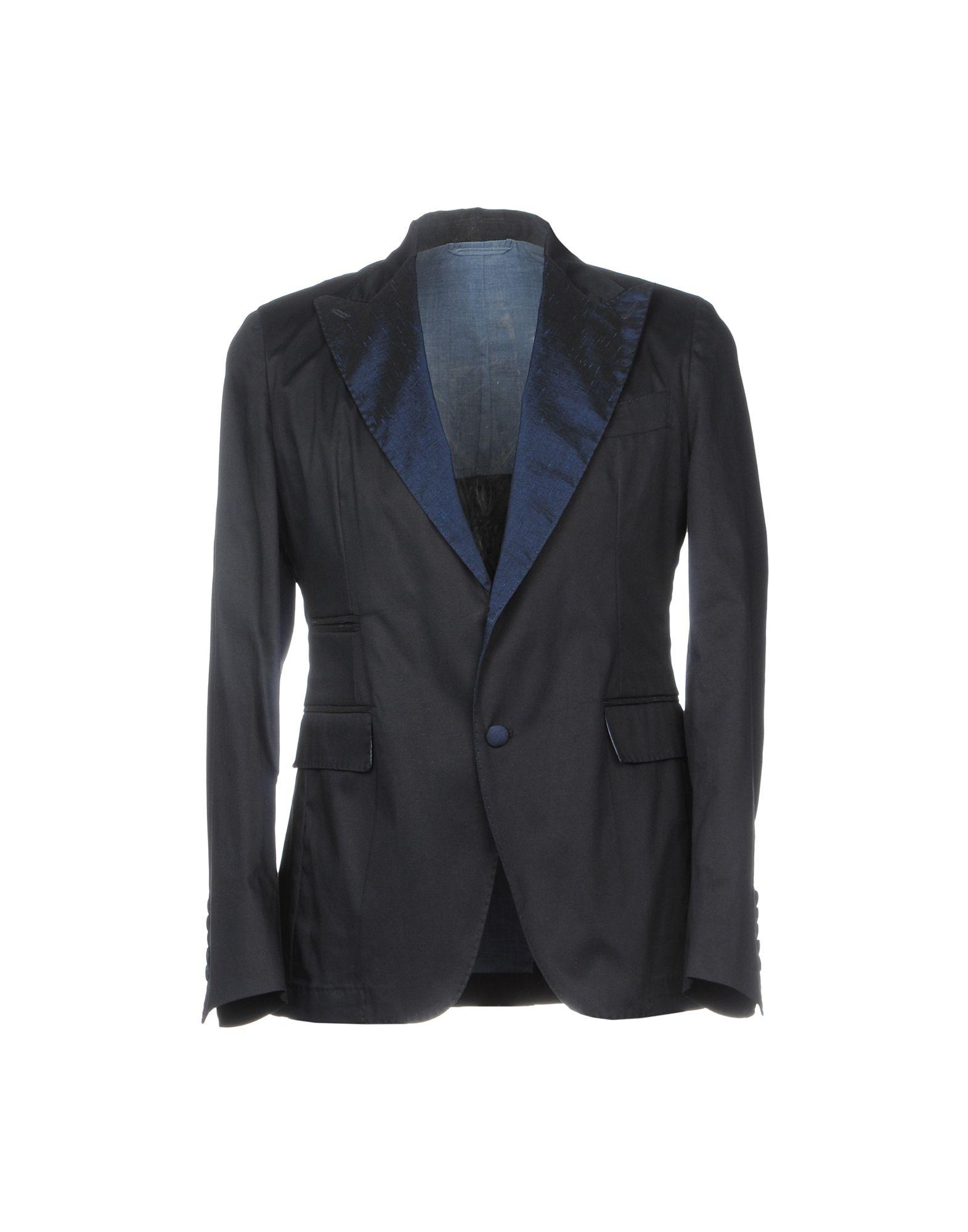 《期間限定セール開催中!》JOHN SHEEP メンズ テーラードジャケット ダークブルー 50 コットン 98% / ポリウレタン 2%