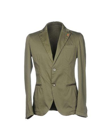 Фото - Мужской пиджак PAUL MIRANDA цвет зеленый-милитари