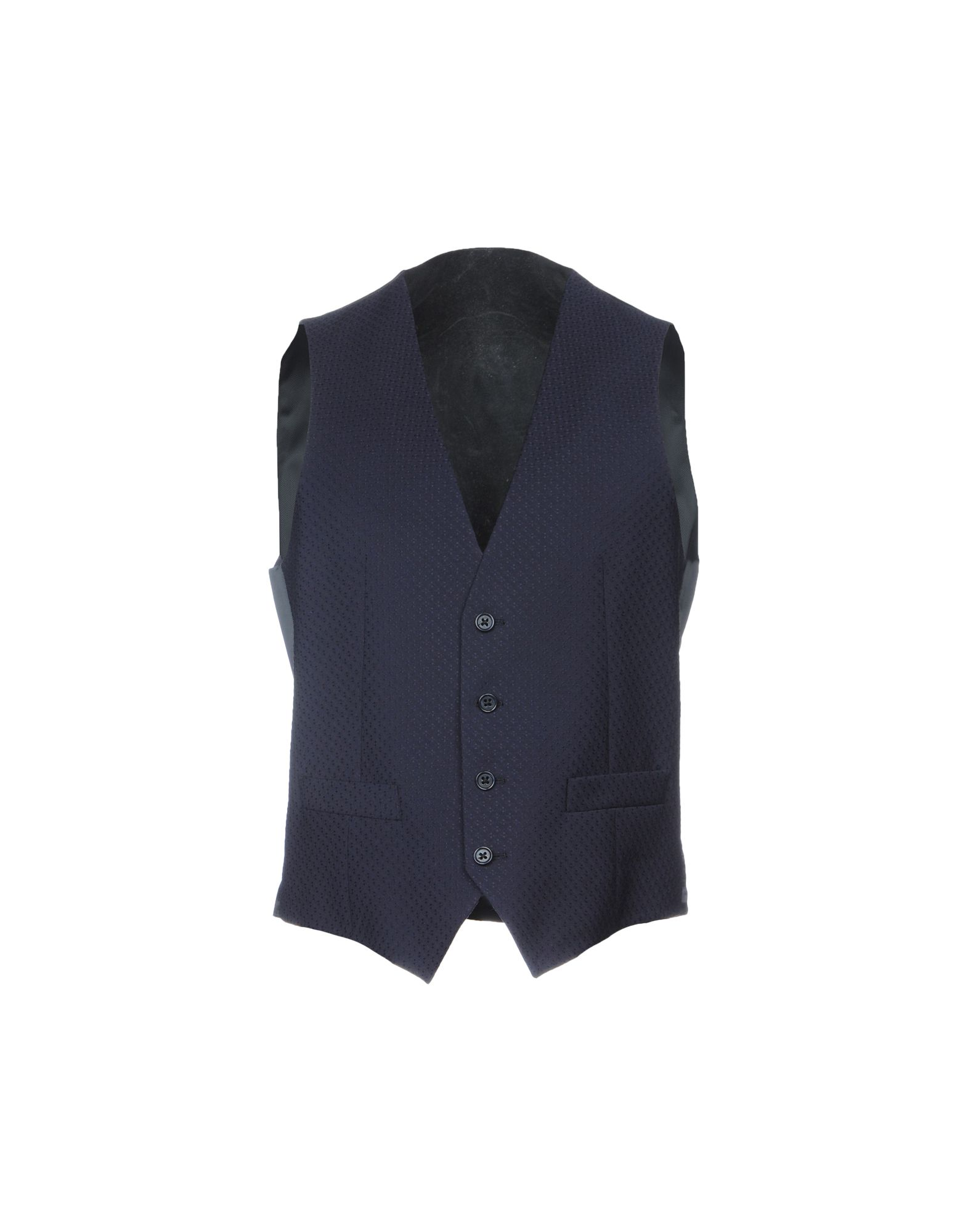 CC COLLECTION CORNELIANI Suit Vest in Dark Blue