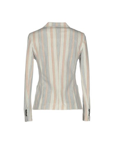 Фото 2 - Женский пиджак CIRCOLO 1901 светло-серого цвета