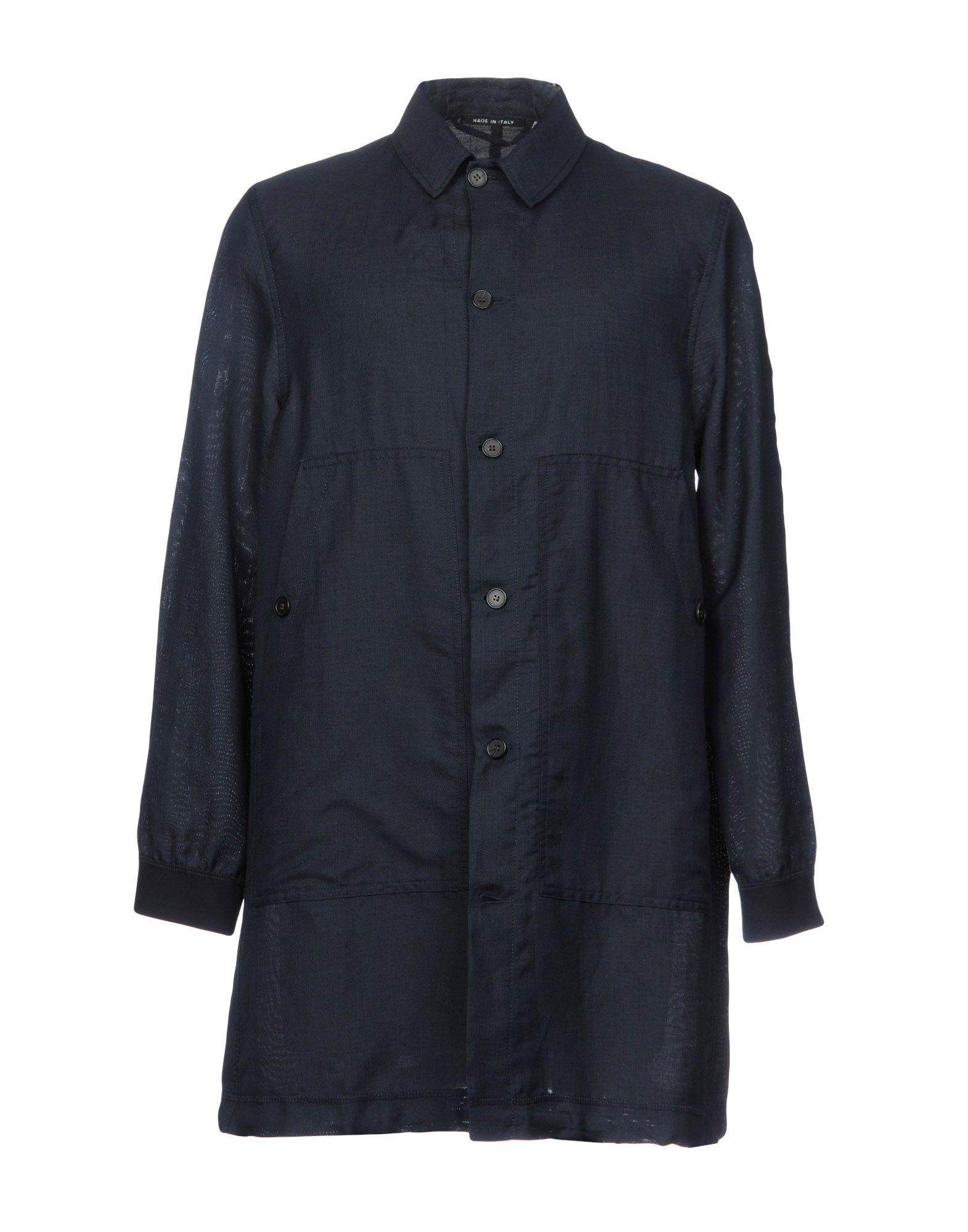 COVERT Full-Length Jacket in Dark Blue
