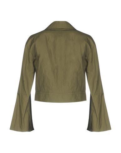 Фото 2 - Женский пиджак GOLD CASE цвет зеленый-милитари